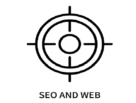 Seo And Web Icon Isolated On White Background.
